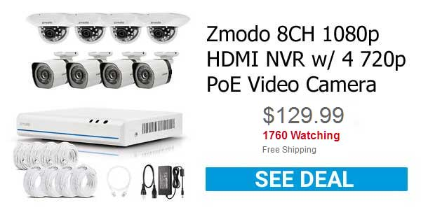 Zmodo Home Security System